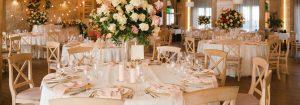 Décoration des tables de mariage